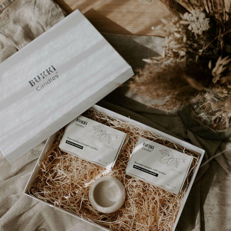 Everyday relax teamécses ajándékcsomag - BUKKI Candles ®