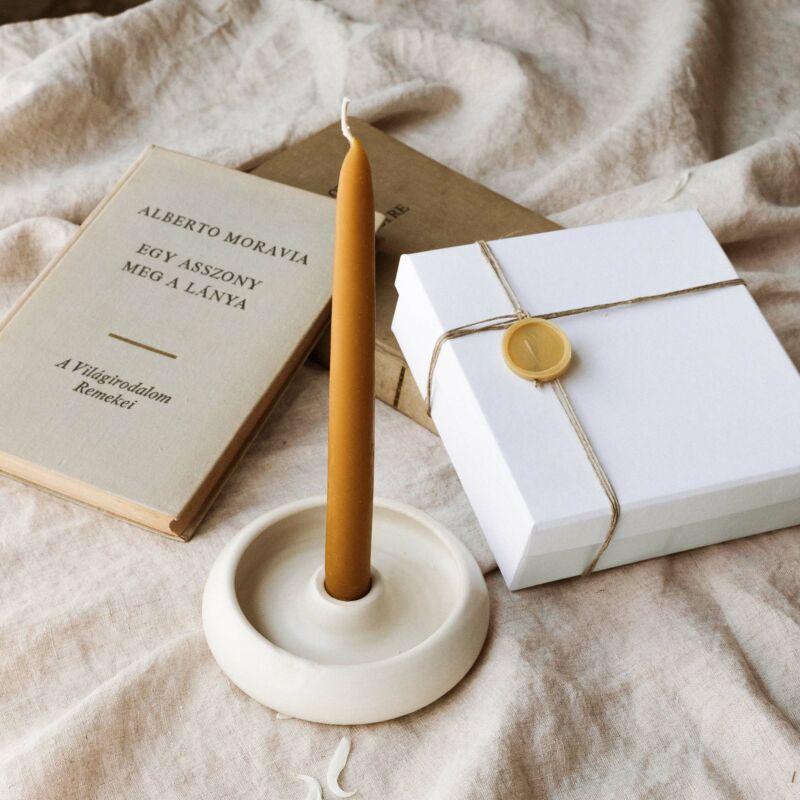 Szálgyertya tartó kerámia - Home Collection - BUKKI Candles ®