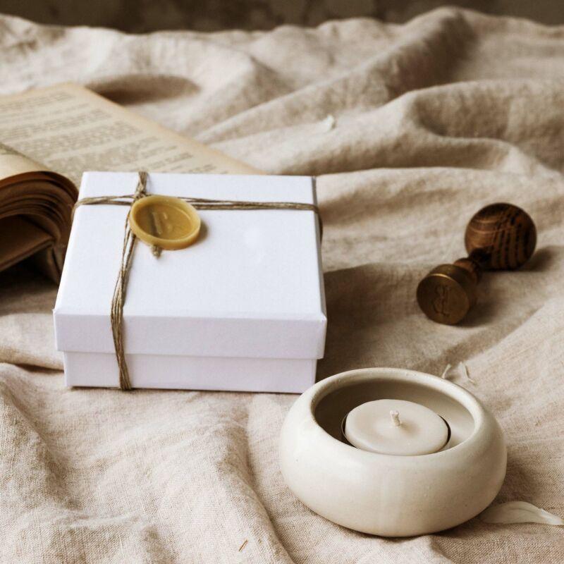 Teamécses tartó - Home Collection - BUKKI Candles ®