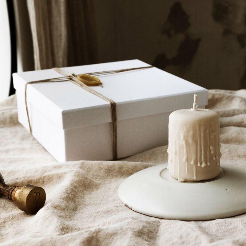 Gyertyatál a BUKKI Candles ® Pure Collection -ből